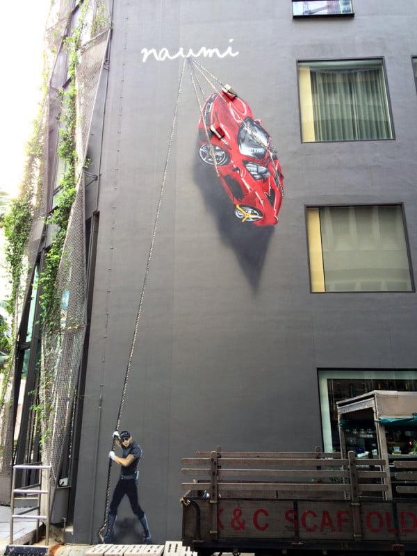 Singapore Street Art - Naumi Hotel Ts1