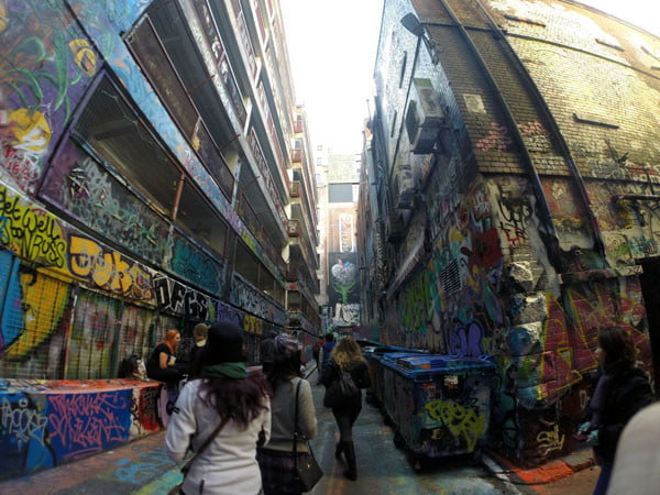 Melbourne Street Art - Rutledge Lane Alley