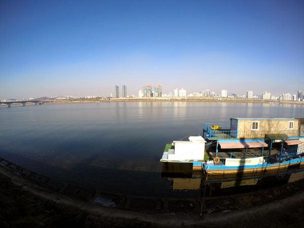 Seoul Apgujeong Jamwon Hangang River View