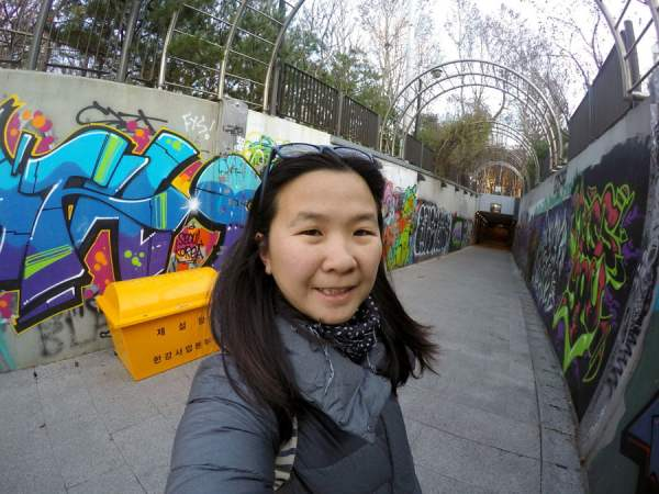 Seoul Apgujeong Selfie