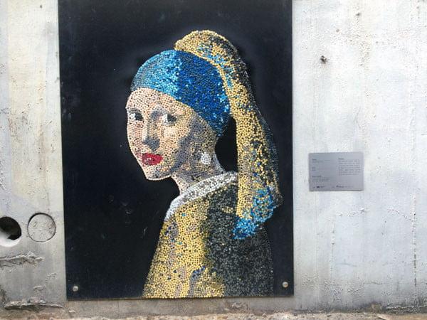 Seoul Mullae Girl with Pearl Earring