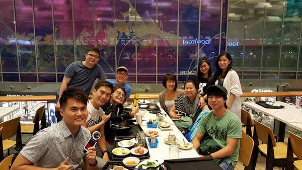 Bali Casio Group Photo Changi
