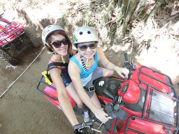 Bali Casio Quad Bike with Lydia