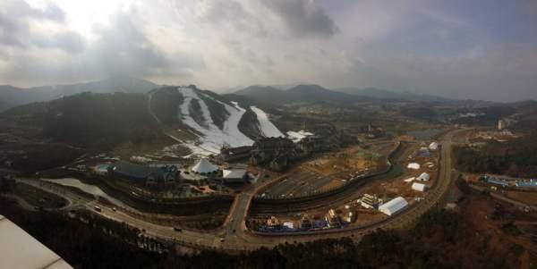Pyeongchang Alpensia Balwangsan Pano