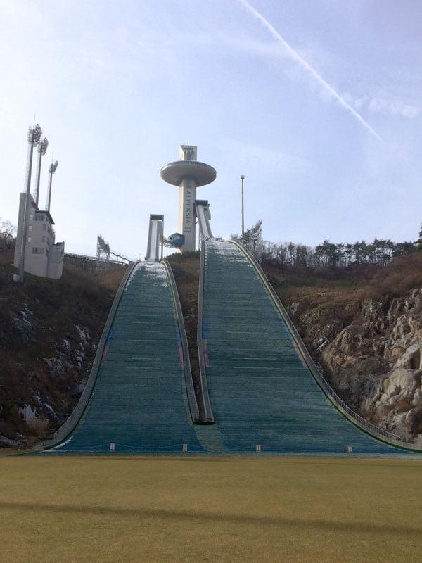 Pyeongchang Alpensia Ski Jump Slope
