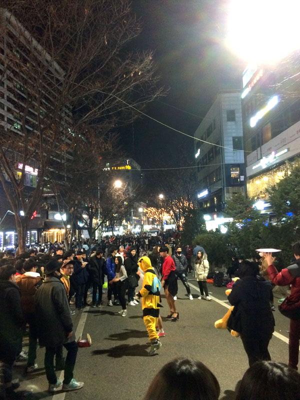 Seoul Hongdae Street Dancing