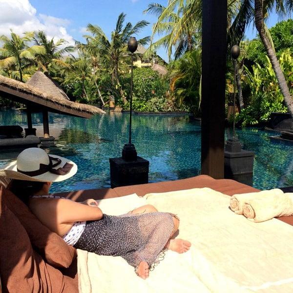 Bali St Regis Freshwater Pool Cabana