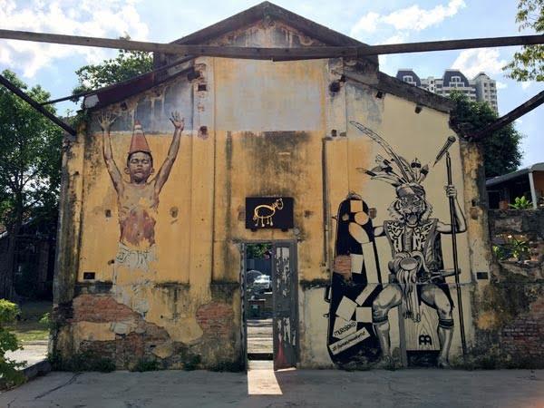 Penang Street Art - Hin Bus Depot ErnestZ Thomas Powell