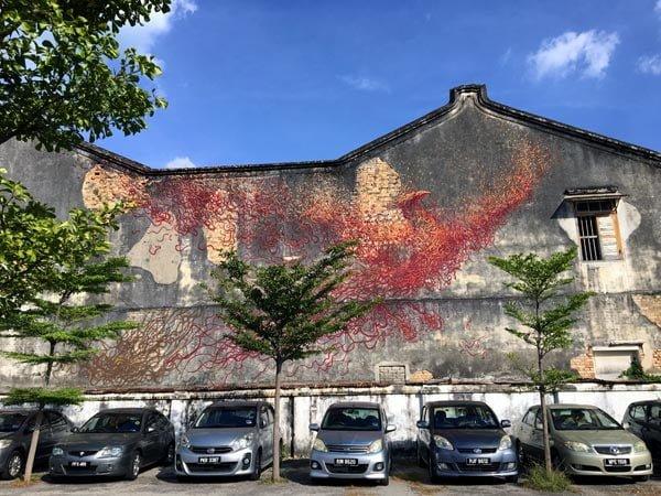 Penang Street Art - Jalan Hutton Daleast