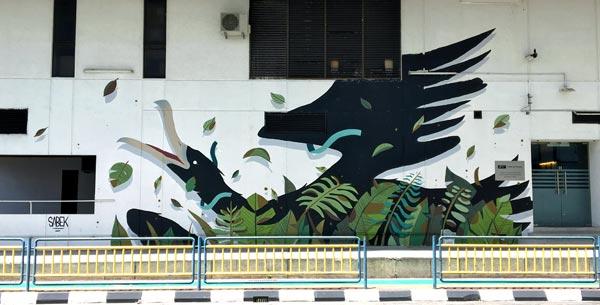 Penang Street Art - Jalan Magazine Hotel Jen Sabek