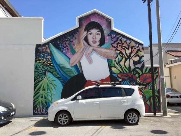 Penang Street Art - Jalan Nagore Elle