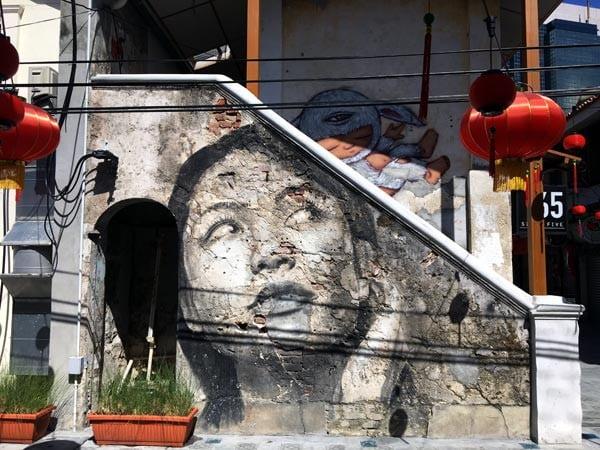 Penang Street Art - Jalan Nagore Rone