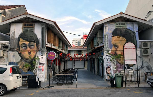 Penang Street Art - Jalan Nagore Styrts