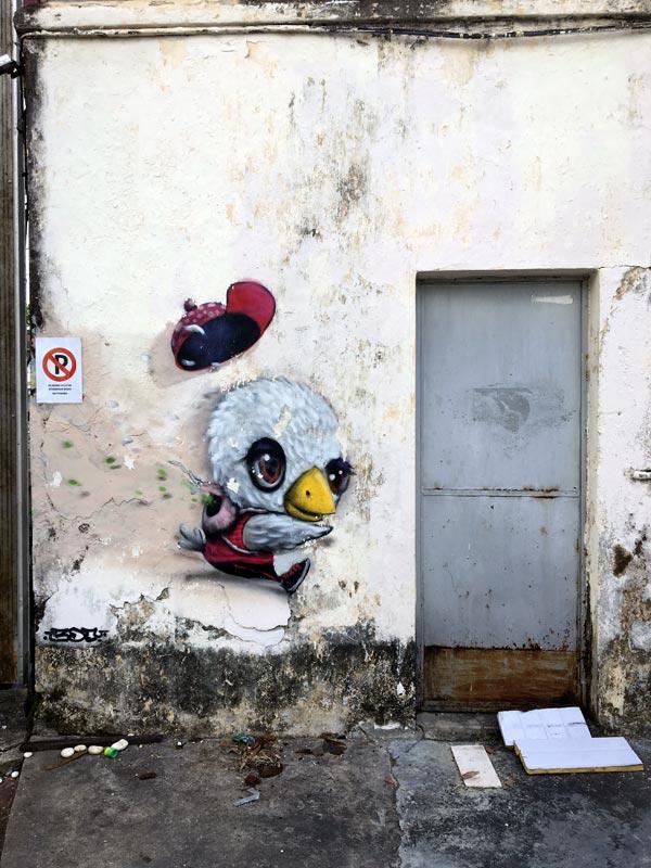Penang Street Art - Lebuh Noordin Muebon