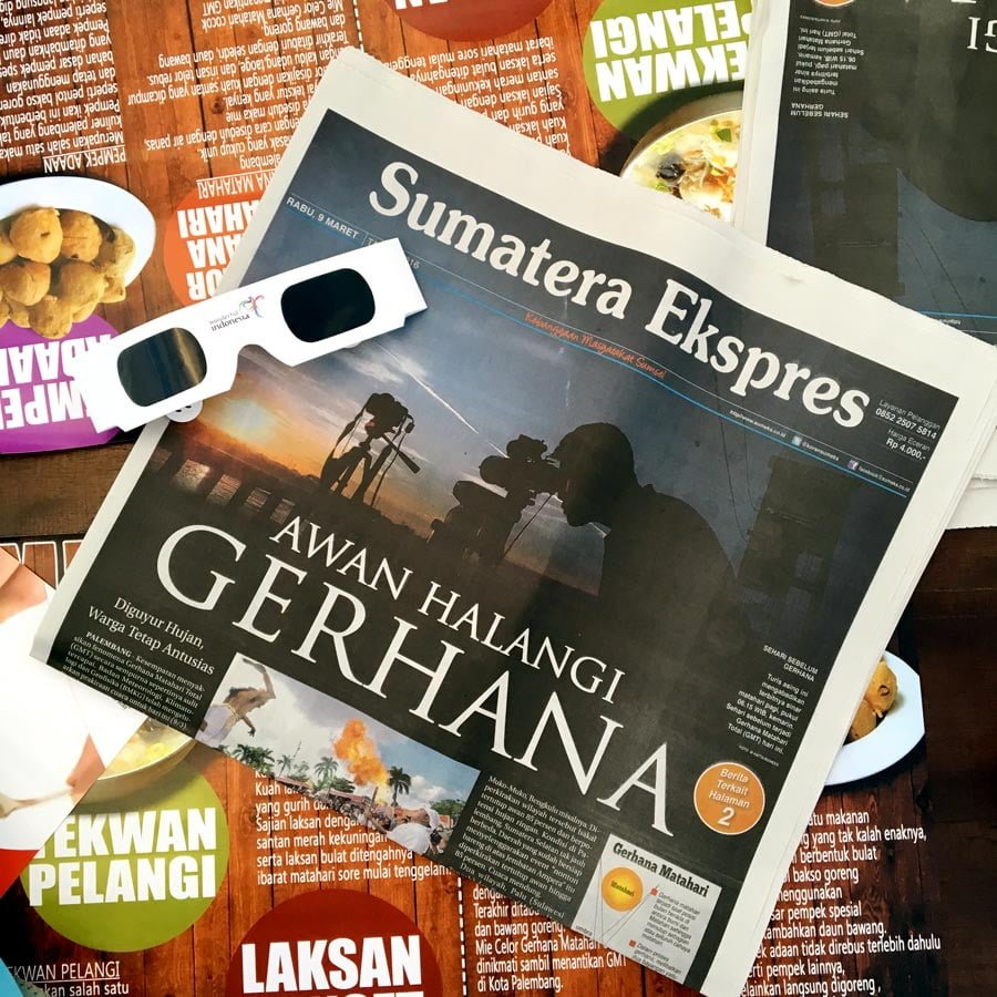 South Sumatra Palembang Eclipse News