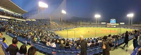 Tokyo Baseball - Pano