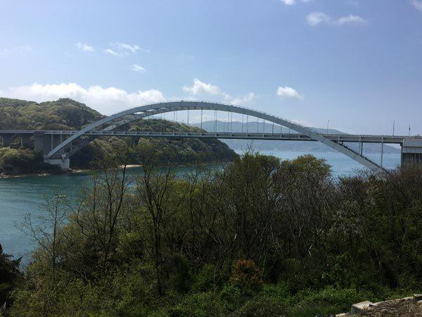 Shimanami Kaido - Omishima Bridge