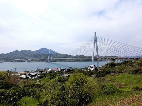 Shimanani Kaido - Innoshima Ikuchi Bridge View