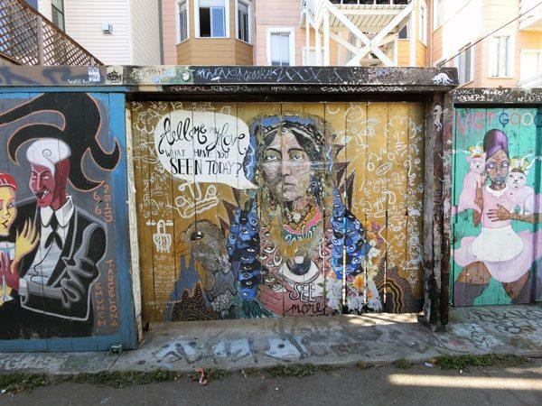 San Francisco Street Art Clarion 1