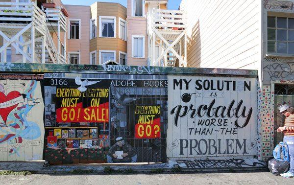 San Francisco Street Art Clarion 5