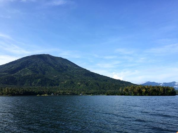 South Sumatra Ranau Lake Marisa Island