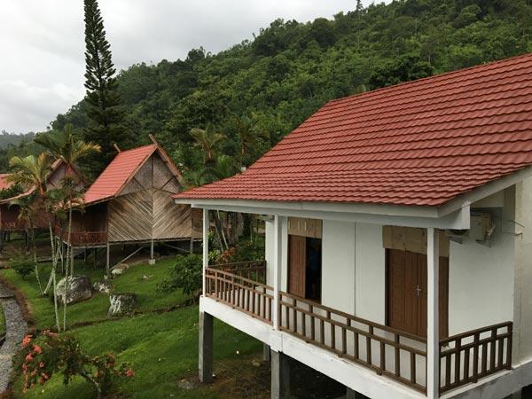 South Sumatra Ranau Lake Wisma Pusri Bungalow