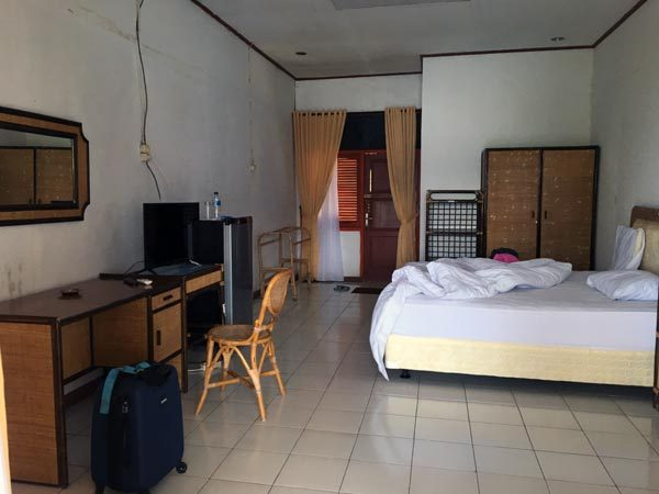 South Sumatra Ranau Lake Wisma Pusri Room