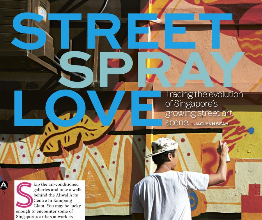 Tracing the Evolution of Singapore's Growing Street Art Scene [A List Article]