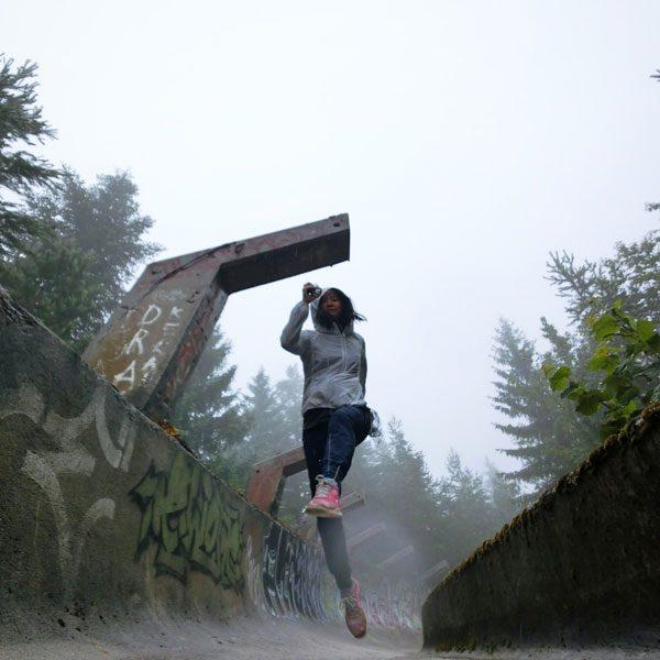 Bosnia Sarajevo Olympic Bobsled Running Jumpshot