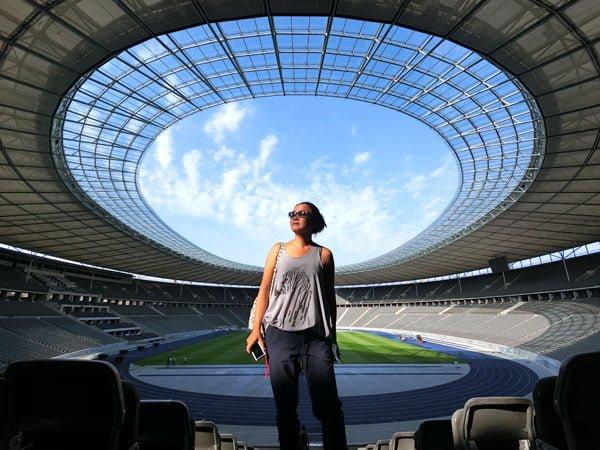 Berlin Olympiatadion Halo