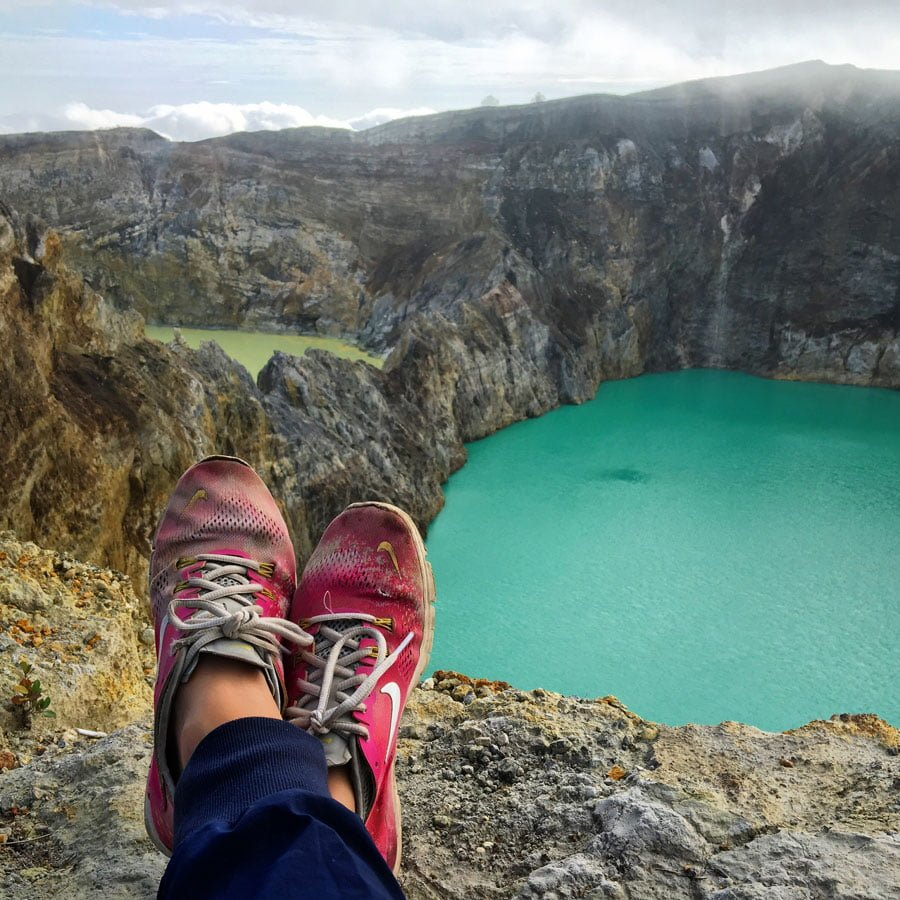 The Amazingly Colourful Crater Lakes of Kelimutu