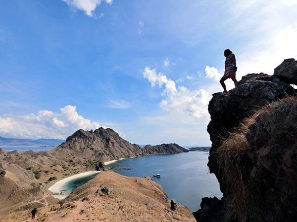 Komodo Padar Rock Top