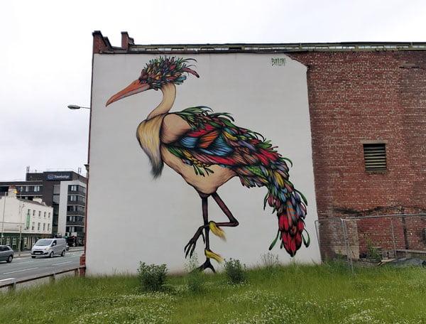 Manchester Street Art Bailon