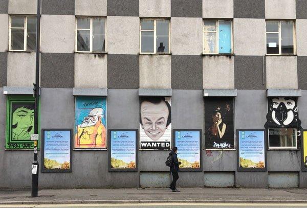 Manchester Street Art Posters