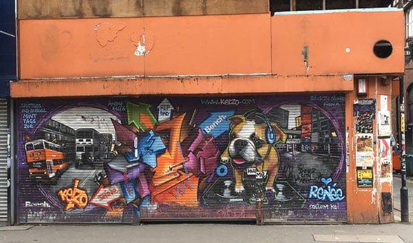 Manchester Street Art Renee