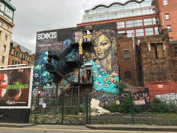 Manchester Street Art Sixxis