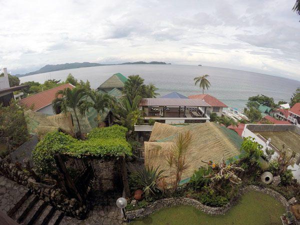 Philippines Anilao Crystal Blue Resort Balcony View