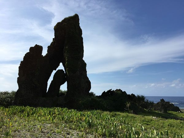 Taiwan Lanyu Jade Girl Rock