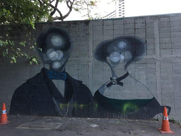 Bangkok Street Art CKR soi 32 kult