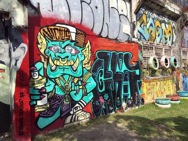 Bangkok Street Art Chalerma Park 3