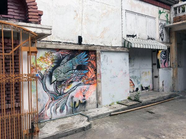 Bangkok Street Art CKR Soi 28 Bird