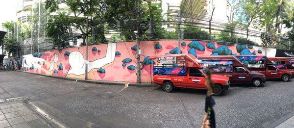 Bangkok Street Art Daan Botlek Pano