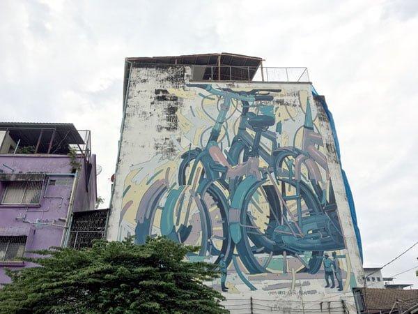 Bangkok Street Art Song Wat Aryz