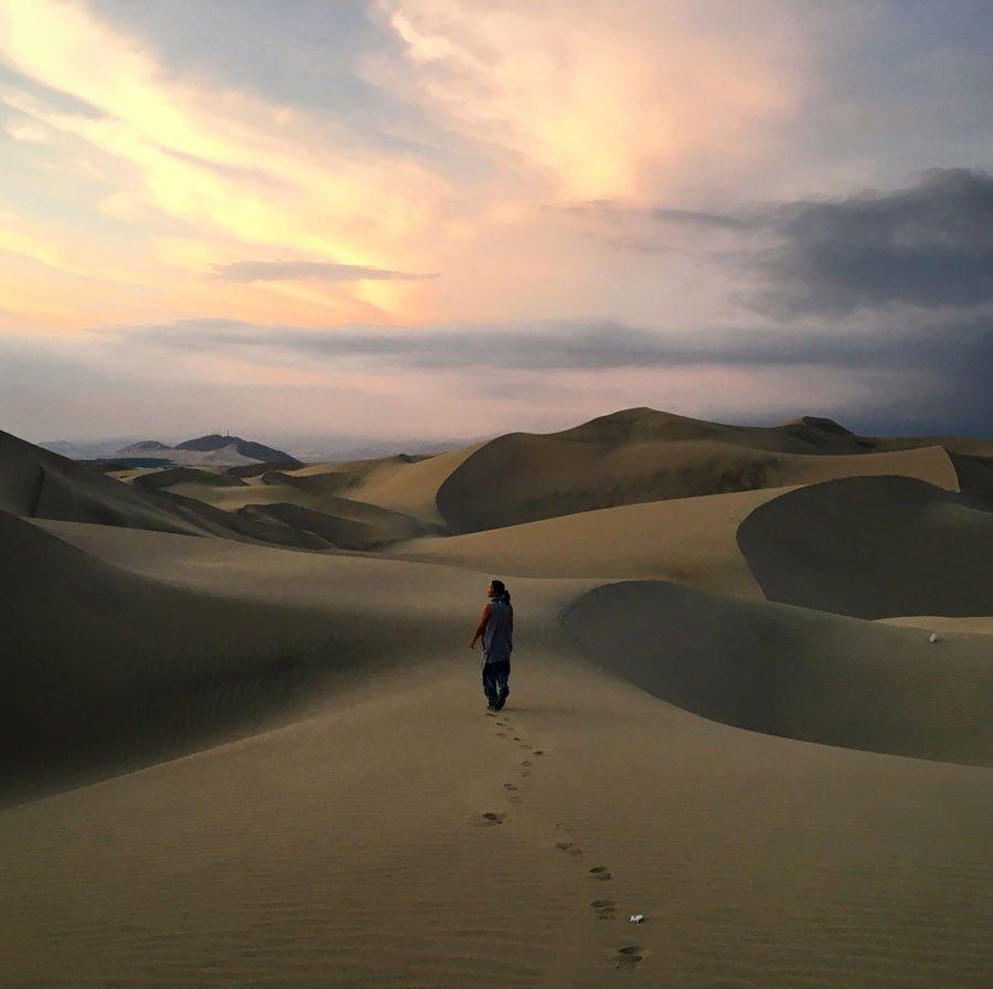 Peru Huacachina Dunes Matter Me