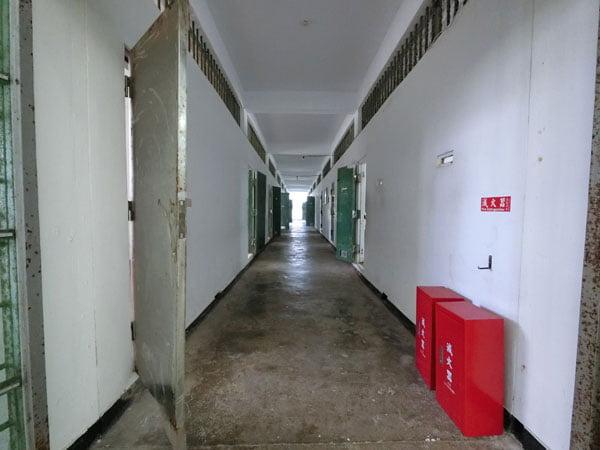 Taiwan Lyudao Prison Corridor