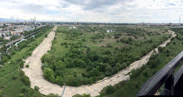 Bucharest Vacaresti Panorama