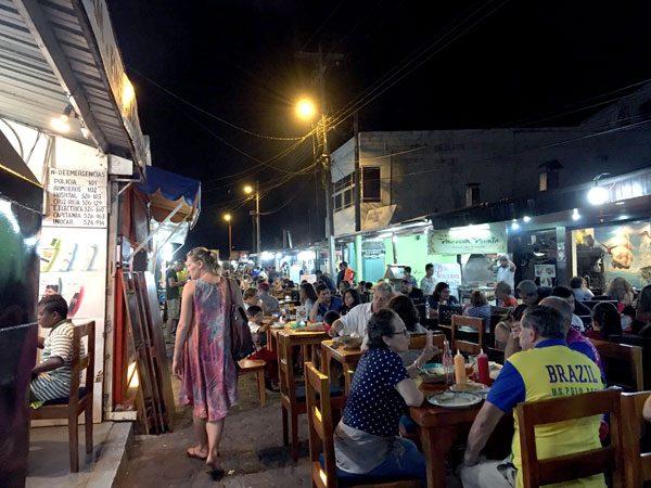 Galapagos Puerto Ayora Food Street