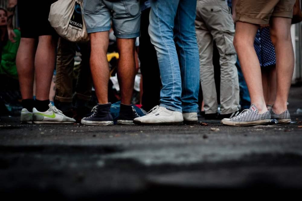 Legs - Photo from Flickr CC Kristian Thøgersen