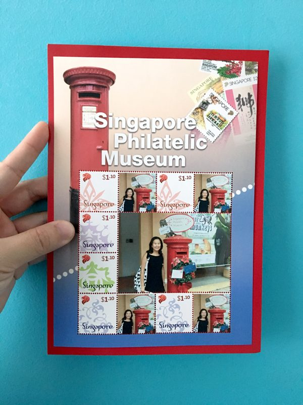 Singapore Philatelic Museum MyStamp