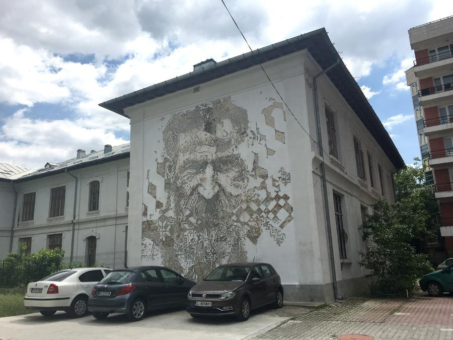 Bucharest Street Art Vhils